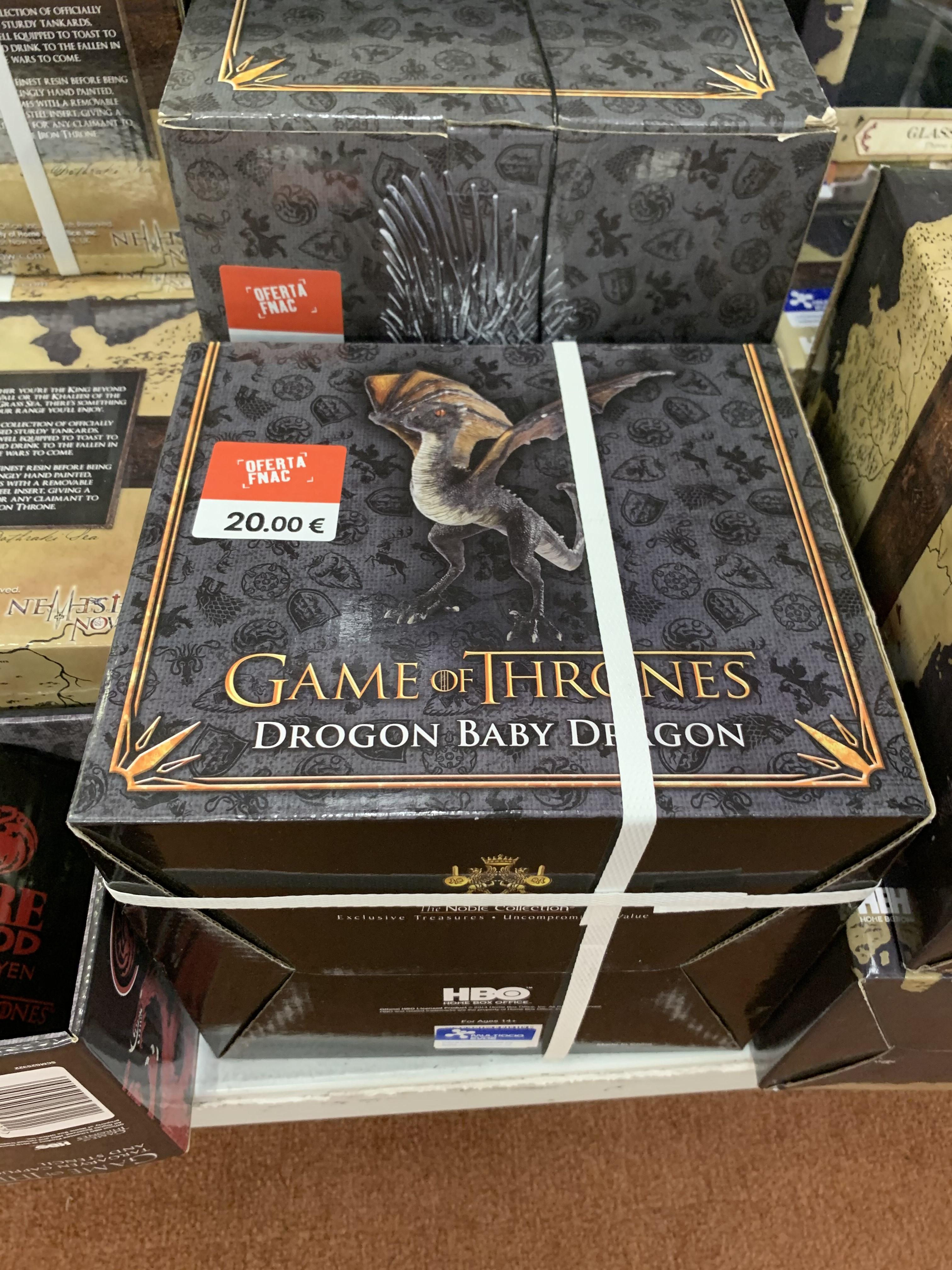 Figura premium Drogon Juego de tronos (Fnac Murcia)
