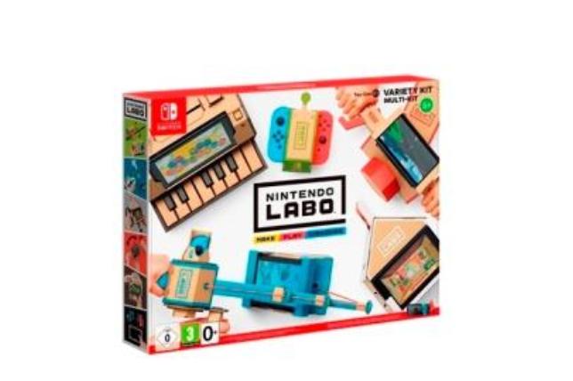 Nintendo labo kit variado Switch