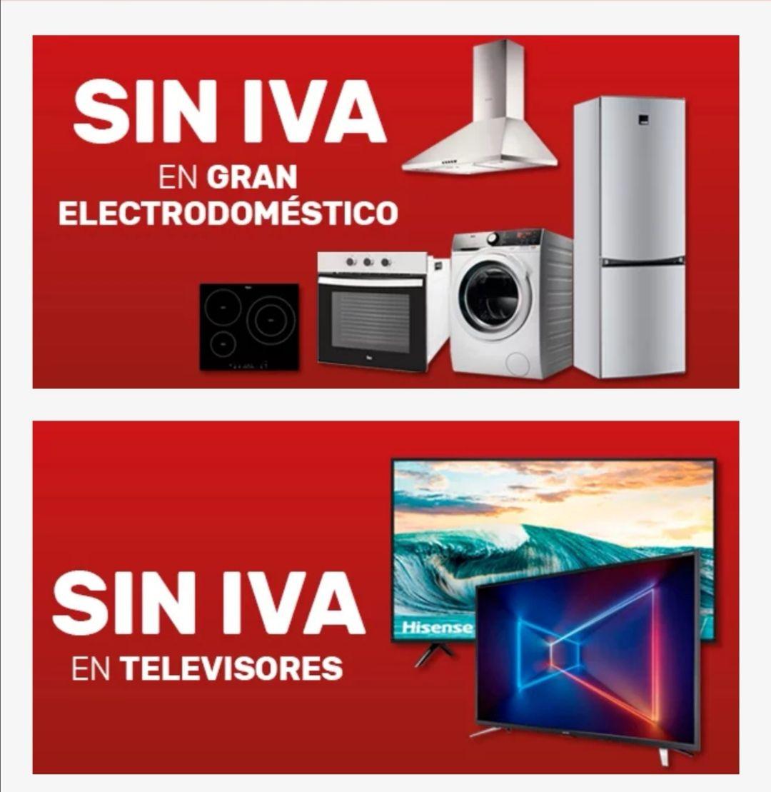 SIN IVA en Worten (TV y G. Electrodoméstico)