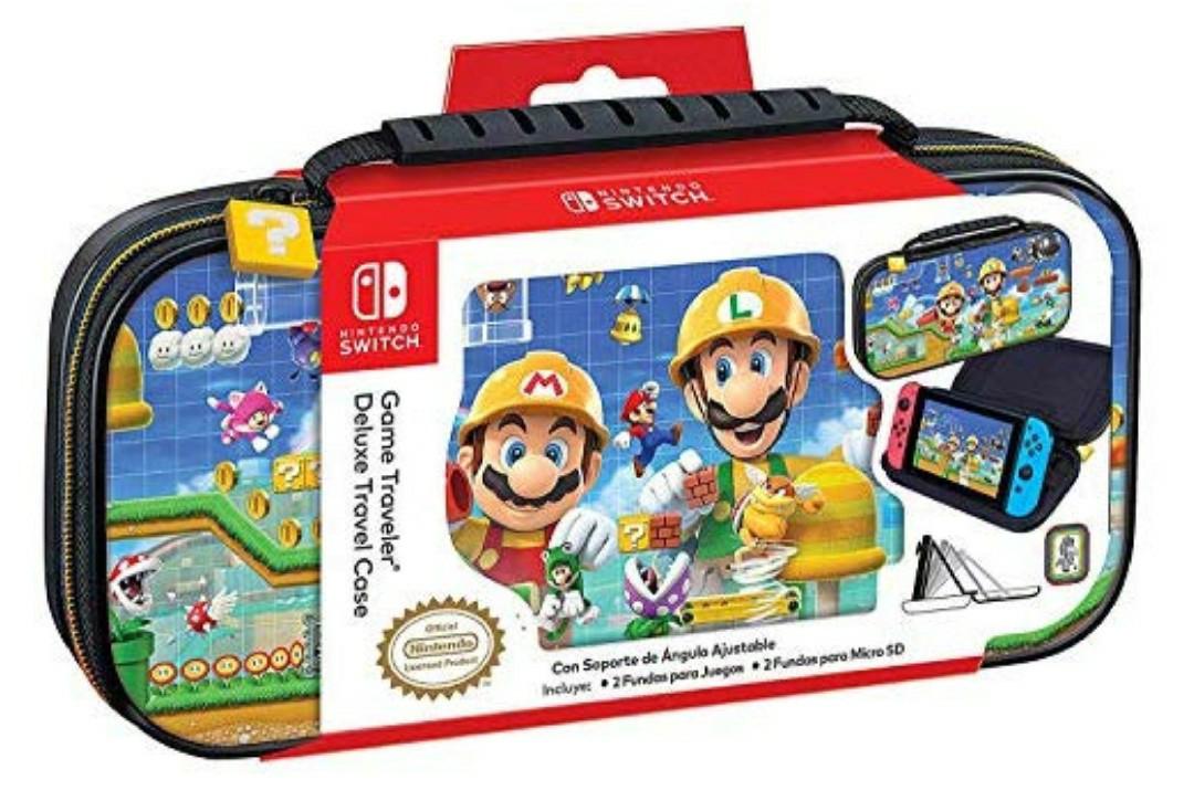 Funda de transporte de Mario para Nintendo Switch
