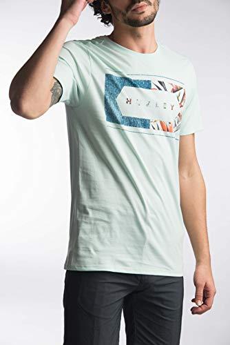 TALLA XXL - Hurley Frame Work PRM tee SS Camisetas, Hombre