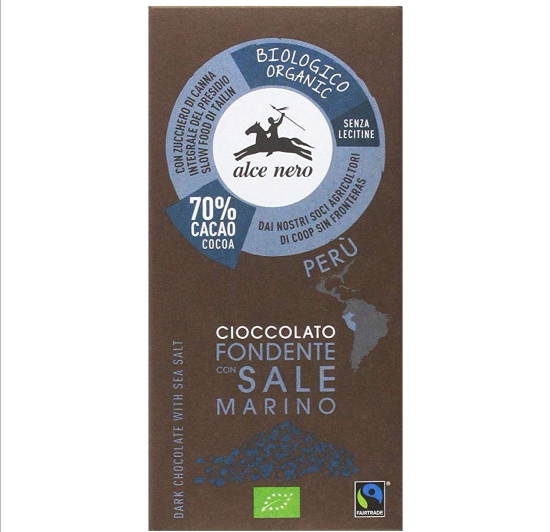 Tableta de chocolate con café BIO 50 gr