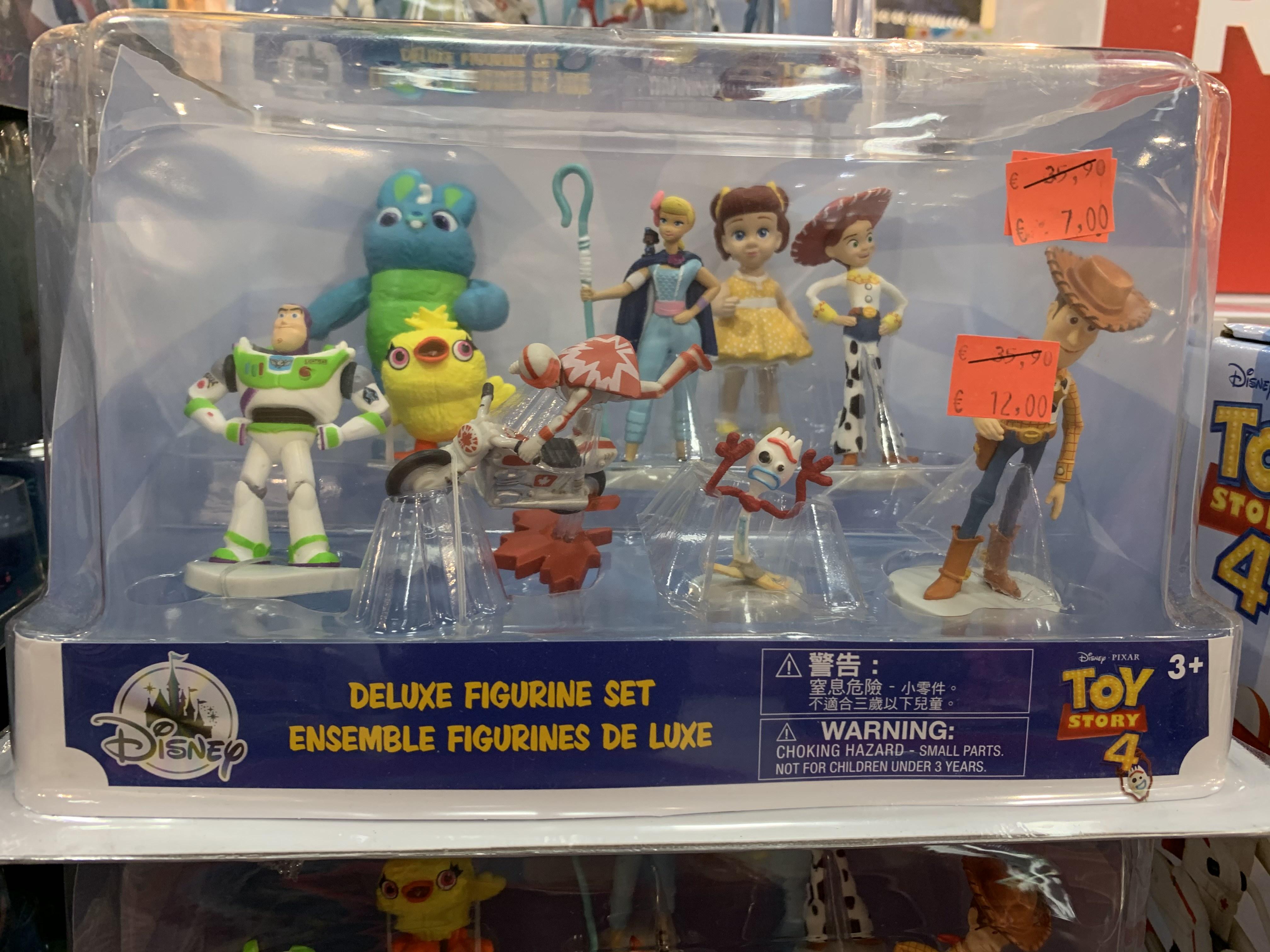 Set 9 figuras Toy Story (Disney Store Murcia)