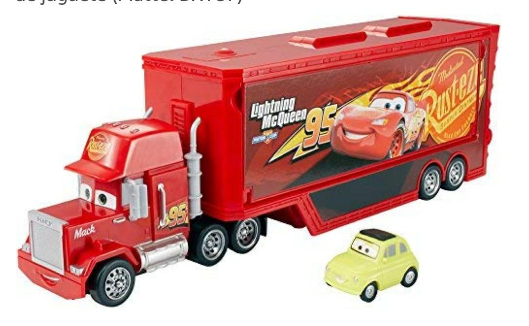 Cars camión Mack gran viaje