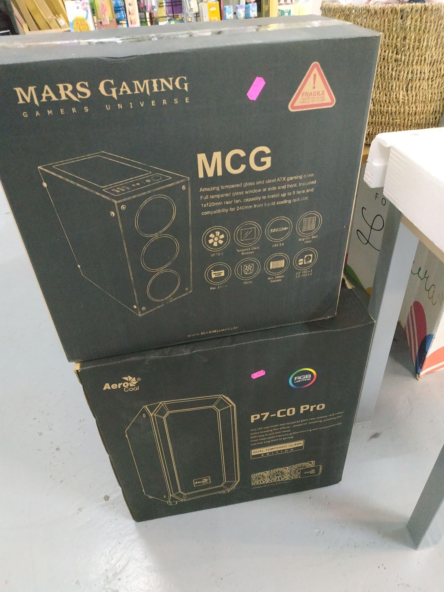 Caja mars Gaming en Factory cactus de Guadalajara