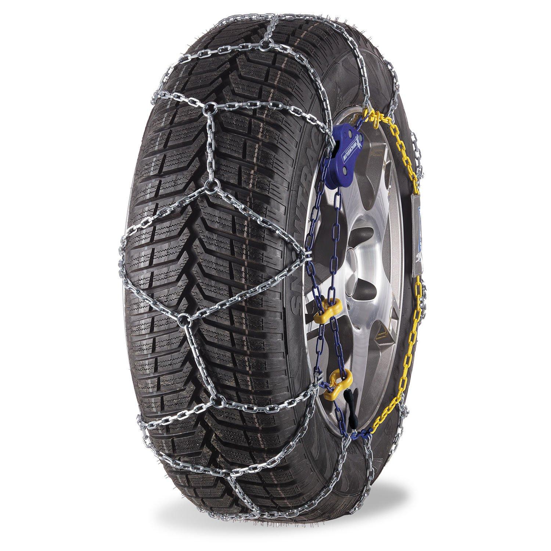 Cadenas de nieve -Michelin- (compatibles ABS y ESP) 2 piezas