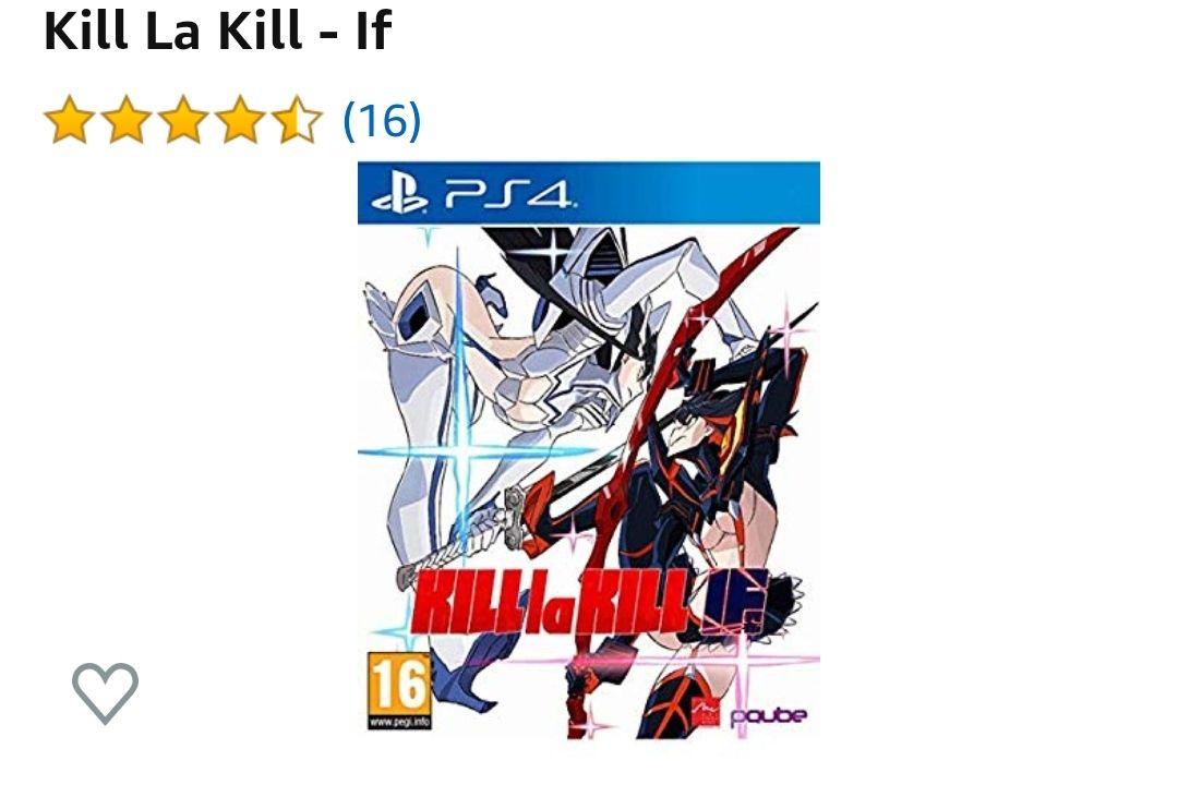 Kill La Kill - If (Físico, PS4)