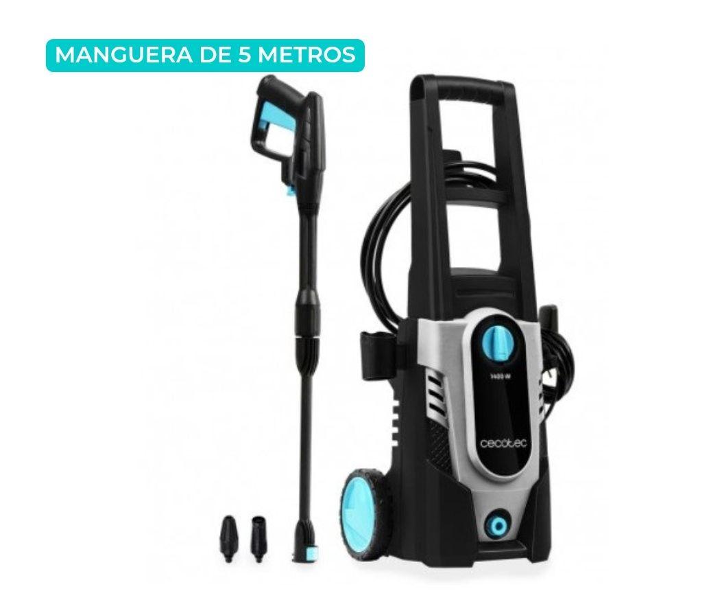 Cecotec 05401 - Hidrolimpiadora Hidroboost 1400 Easymove Limpieza alta presión