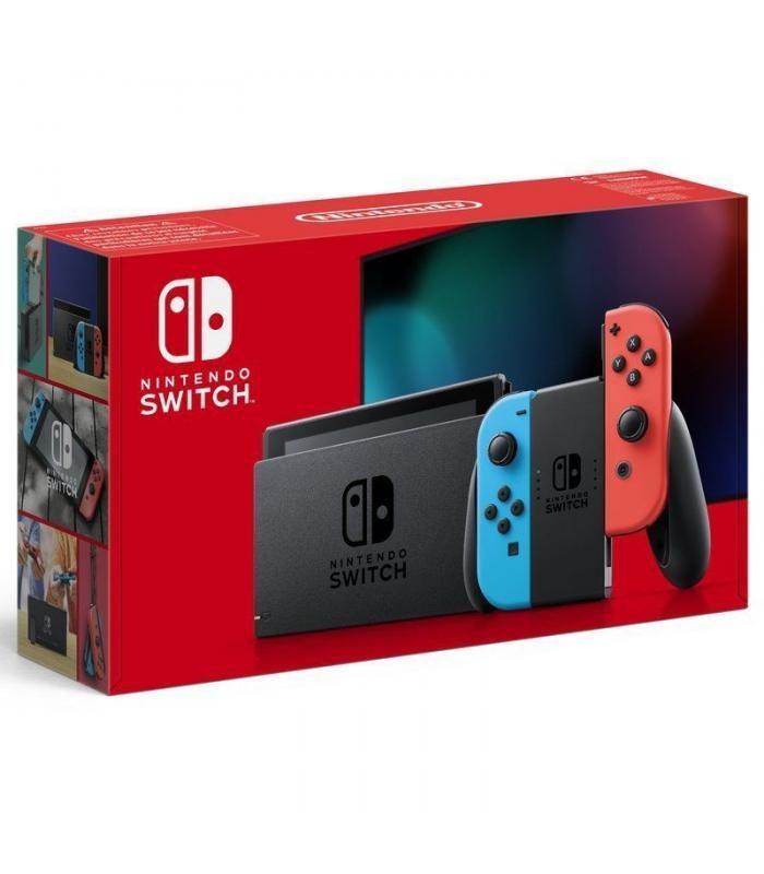 Nintendo Switch 2019 Rojo y Azul en España Efecto2000