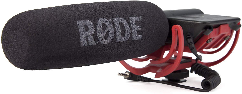 Rode VideoMic Rycote - Micrófono de condensador (estéreo, 9V, 80 Hz-20 kHz)