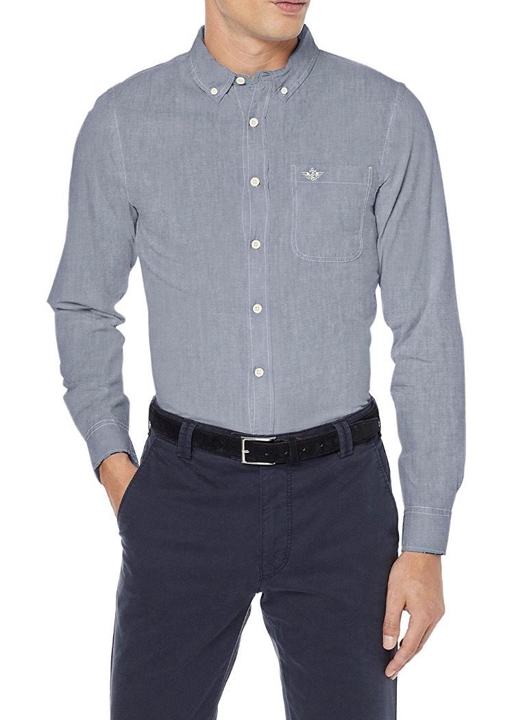 (Talla S) Dockers camisa hombre