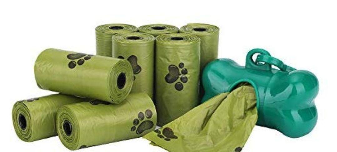 Bolsas biodegradables. 600unid biodegradables