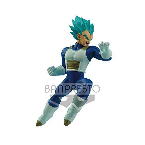 Banpresto Dragon Ball - Super Saiyan Blue Vegeta, 16 cm