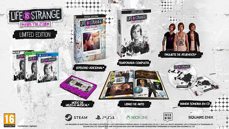 Life is Strange: Before the Storm Limited Edition (PS4, físico) (Carrefour San Sebastián de los Reyes)