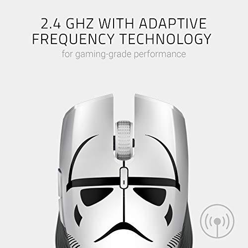 Razer Atheris Stormtrooper, Optico, 7.200 dpi, Inalambrico 2.4GHz USB dongle & Bluetooth