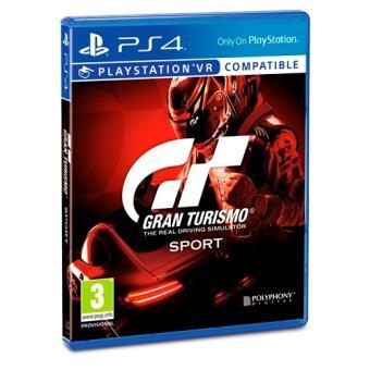 Gran Turismo Sport PS4 - Edición Standard (25,64 € para socios)