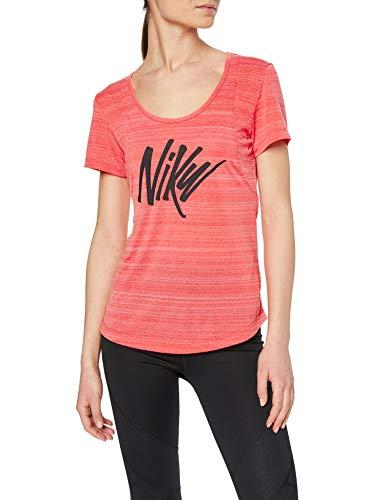 Nike W Nk Top SS 10k SD T-Shirt, Mujer talla M.