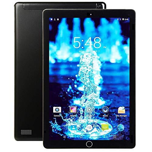 Tableta 10.1 Pulgadas Pantalla HD IPS Android 9.0 - Tablet 4G con 2 Ranuras para Tarjetas SIM 3GB RAM 32GB de Memoria Quad Core .