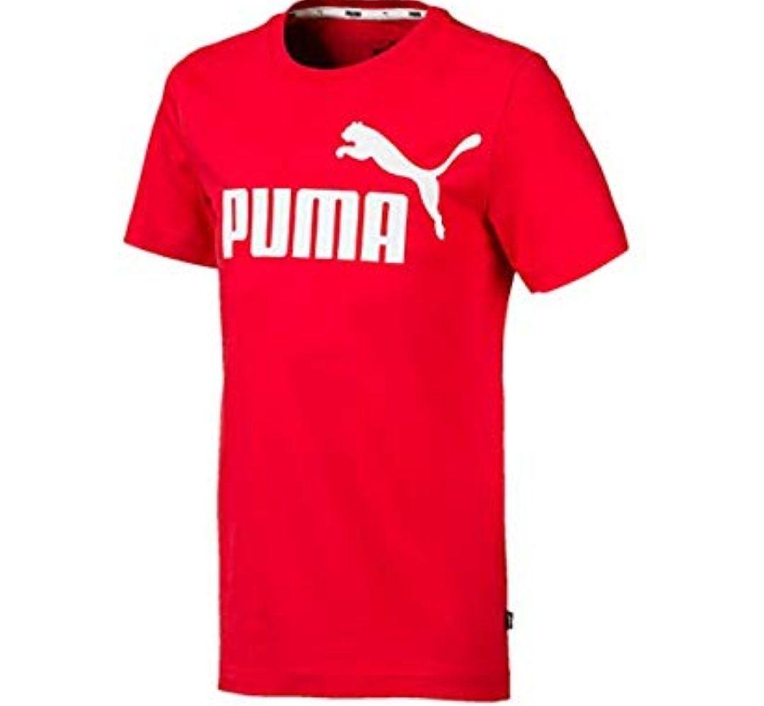 PUMA ESS Logo tee B Camiseta, Niños