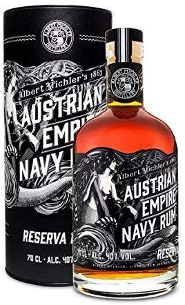 Ron Austrian Empire Navy Reserva 1863 - 700 ml.