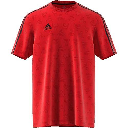 TALLA L - adidas Tan MW Jqd, Camiseta para Hombre