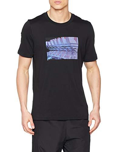 TALLA M - adidas 3D Trefoil tee Camiseta, Hombre