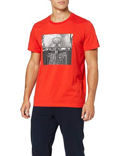 TALLA M - adidas Skull Ball, Camiseta para Hombre