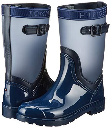 Tommy Hilfiger Translucent Detail Rain Boot, Botas Chelsea para Mujer. Talla 39