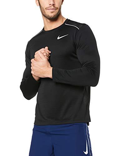 TALLA XXL - Nike M Nk Dry Miler Top LS Long Sleeved T-Shirt, Hombre