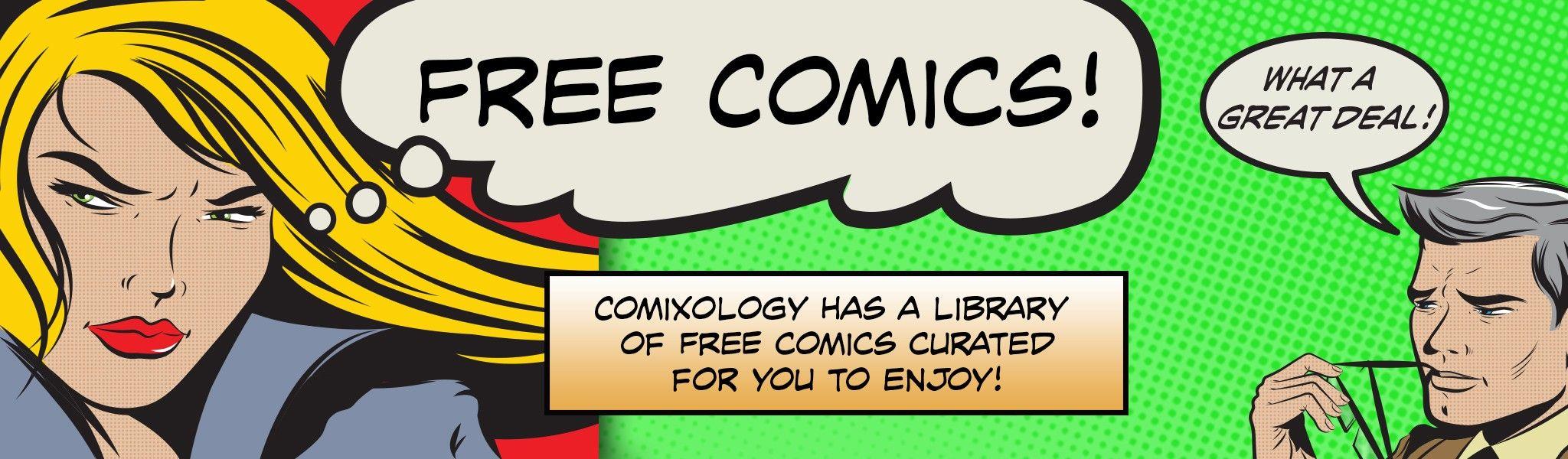 Más de 50 Cómics GRATIS (digitales y en inglés)