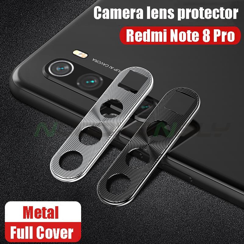 Protector de lentes+Película protectora trasera (redmi note 8/8T/pro)