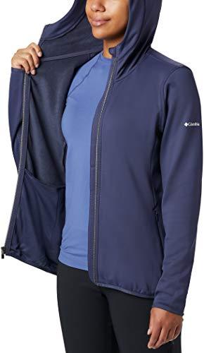 TALLA M - Columbia Windgates, Chaqueta polar con capucha para Mujer