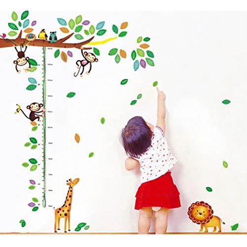 Vinilos infantiles con medidor de altura. Dos modelos a elegir.