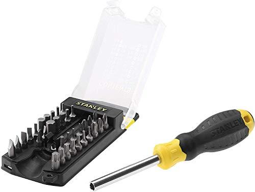 STANLEY Destornillador multipuntas, incluye 33 puntas y organizador de puntas