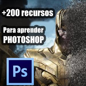 +200 recursos para aprender Adobe PHOTOSHOP (español, inglés)