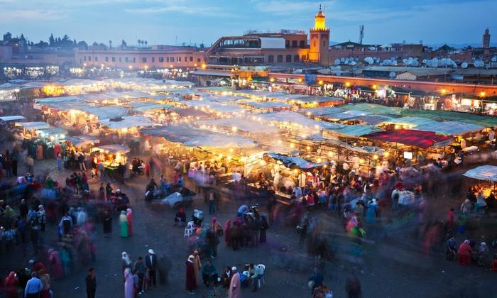 Marrakech: 2, 3, 5 o 7 noches en habitación doble o twin con vuelos