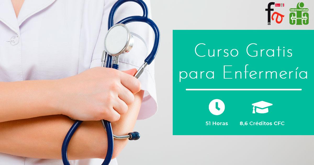 Curso CFC Gratis para Enfermeros/as