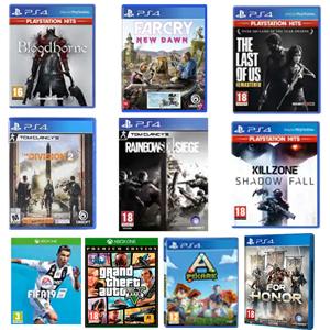 Juegos PS4, XBOX por menos de 10€ (Físico, AlCampo)