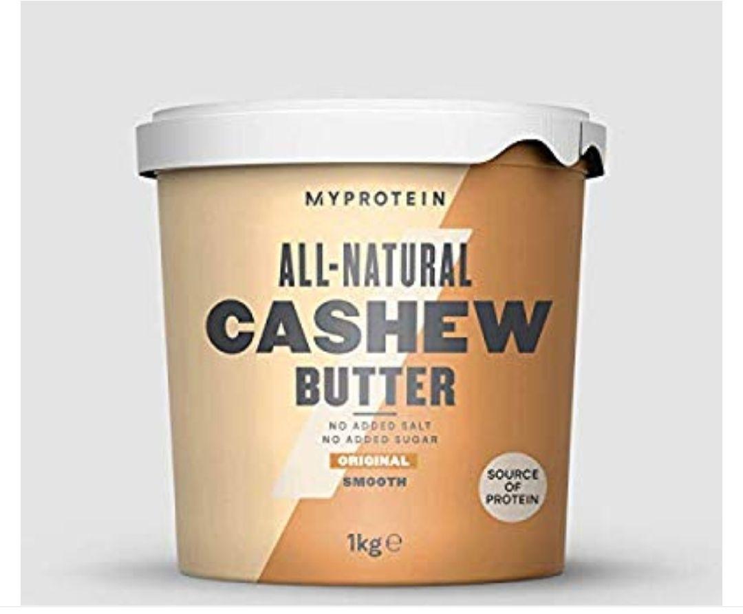 SABOR CRUJIENTE - Myprotein Natural Cashew Butter1 Unidad 1000 g