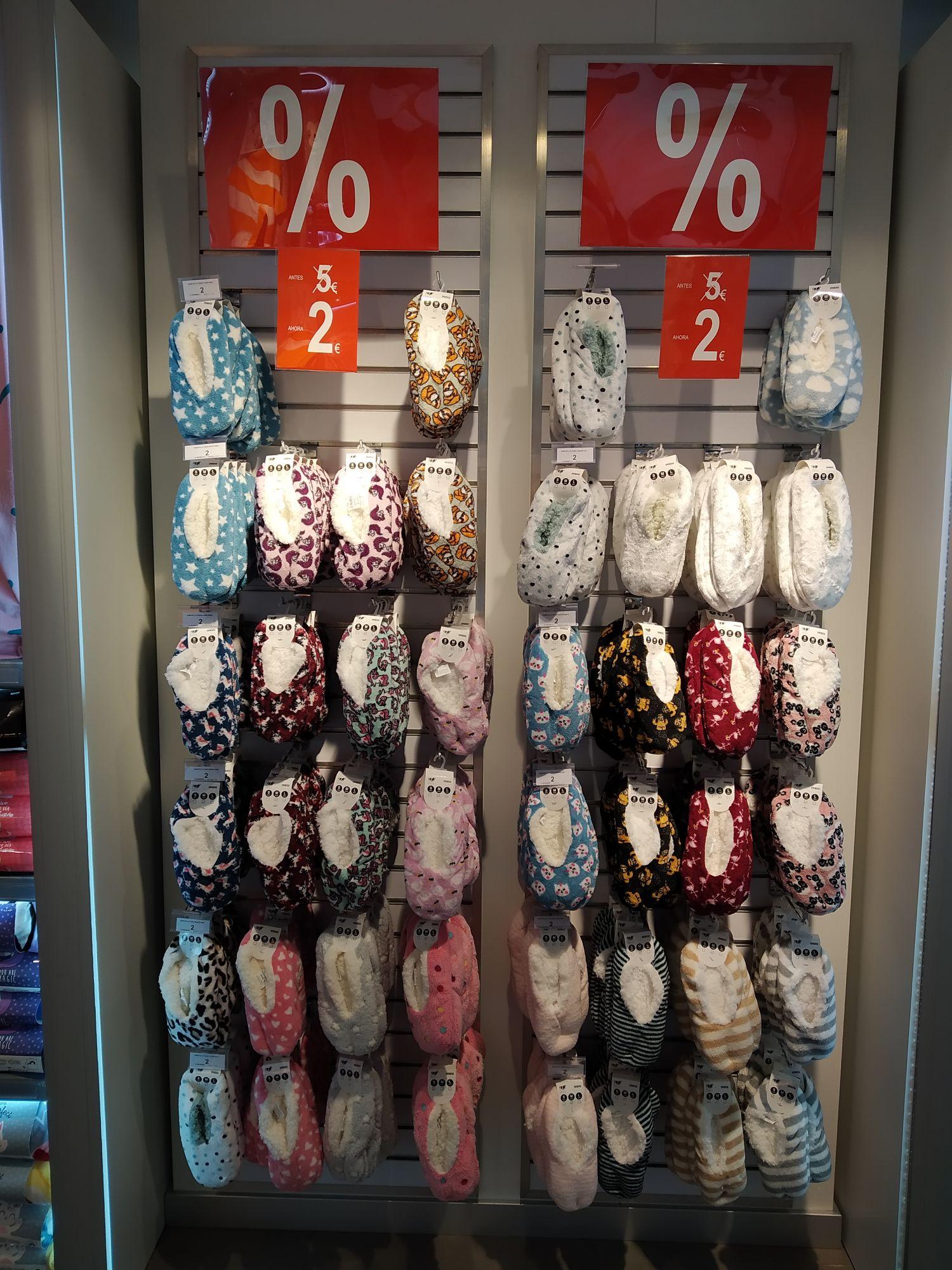 Alpargata/calcetín tiendas Ale-Hop