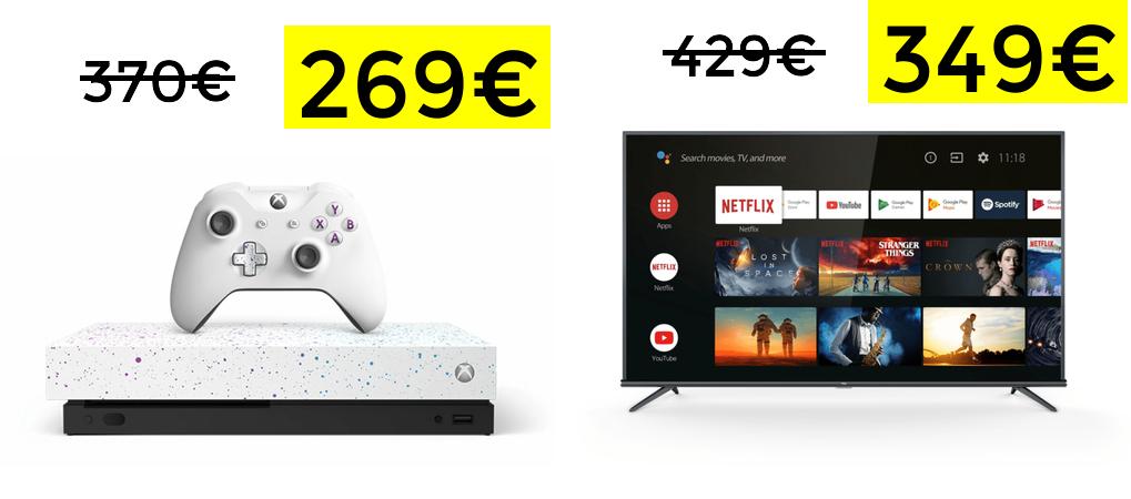 """Liquinight de MediaMarkt: Xbox One X, TV 50"""" y más"""