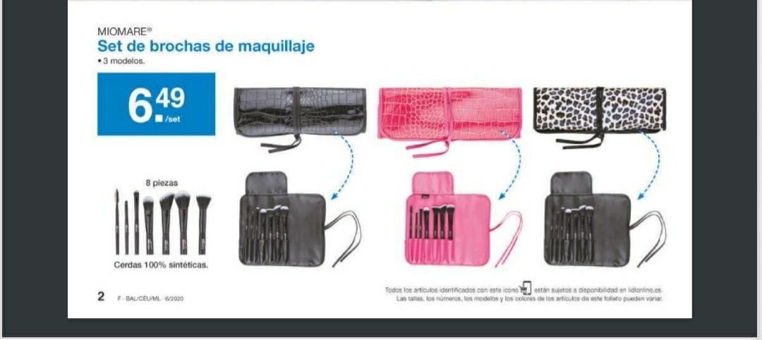 Set de brochas muy baratas ( Lidl Andalucia)