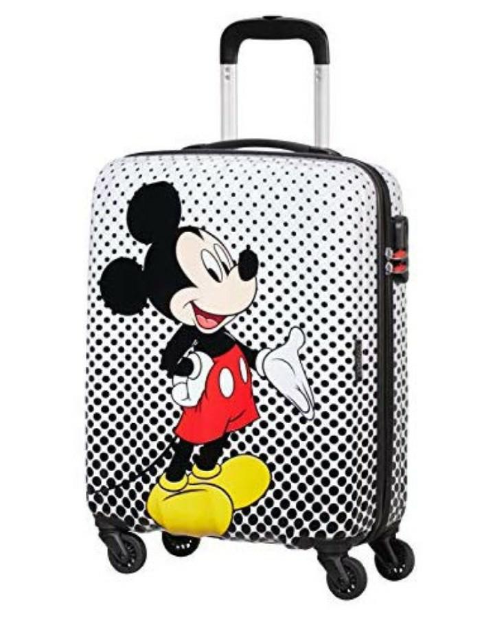 Maleta de Mickey mouse de niño pequeña, 55 cm, 36 L