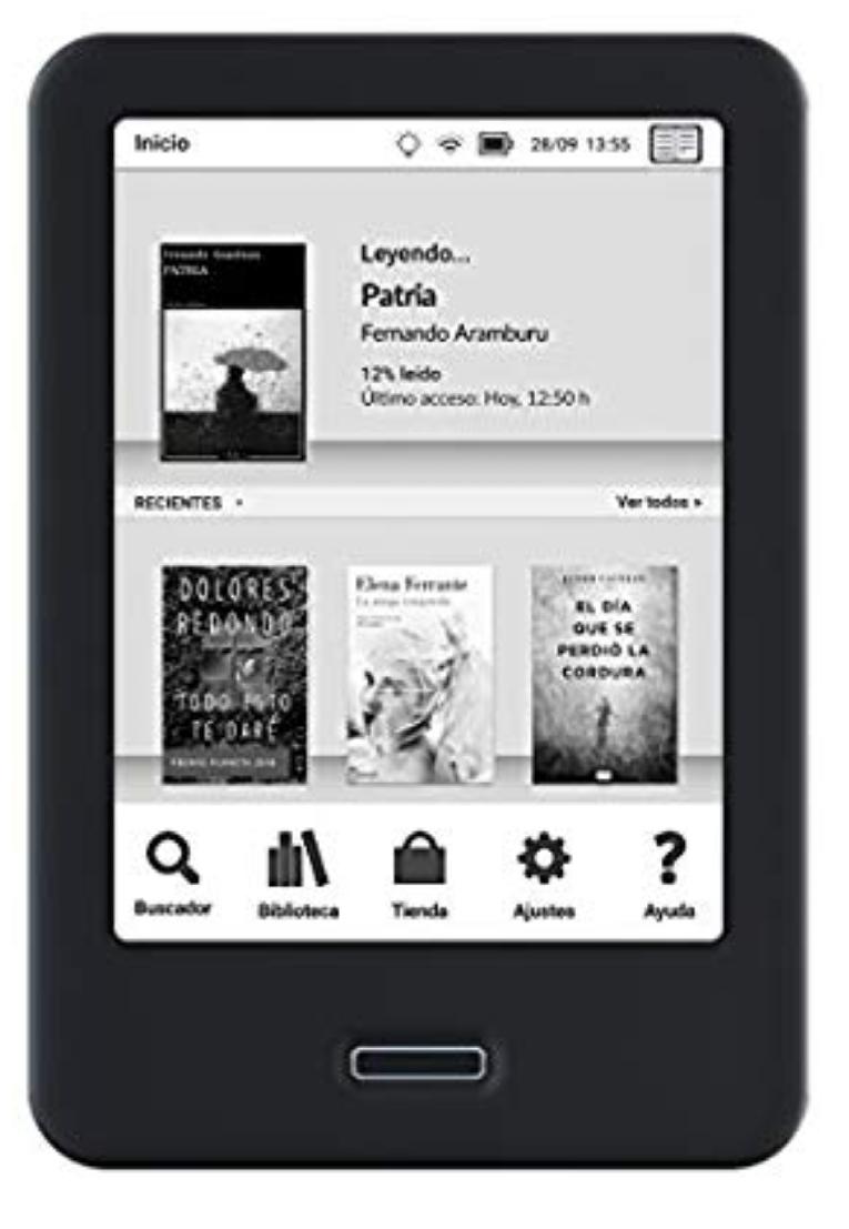 """BQ Cervantes, libro electrónico 6"""""""