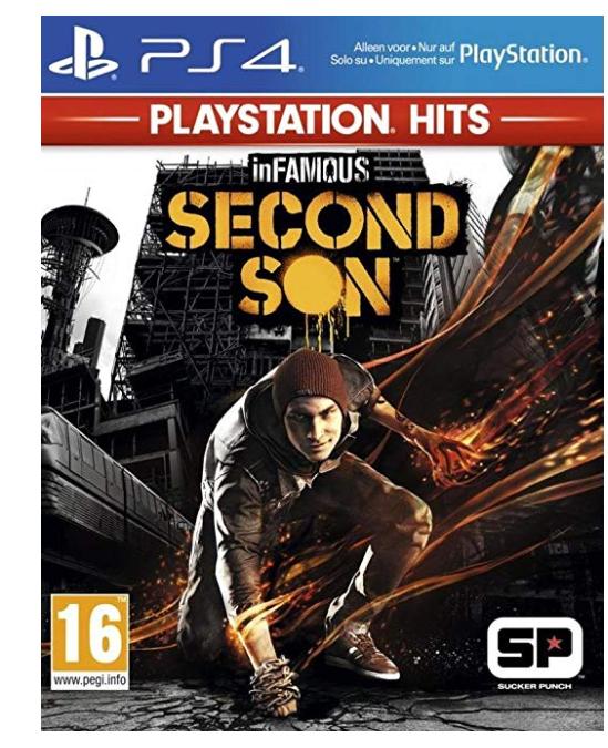 InFamous: Second Son HITS [Importación francesa]