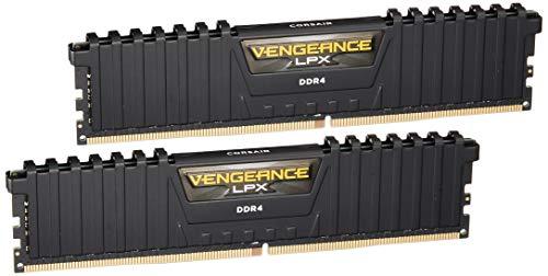 Corsair Vengeance LPX - Módulo de Memoria XMP 2.0 de Alto Rendimiento de 16 GB (2 x 8 GB, DDR4, 3200 MHz, C16) Color Negro