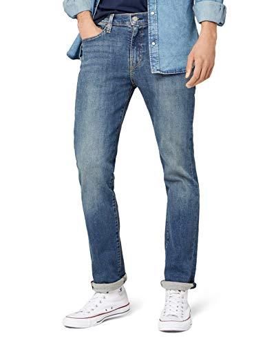 Levi's Jeans 511 Uomo Medium Blue Denim Slim Fit 045112988