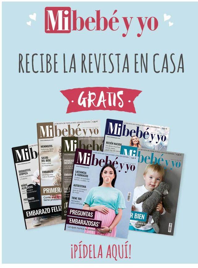 Suscripción gratis a la revista Mi bebé y yo