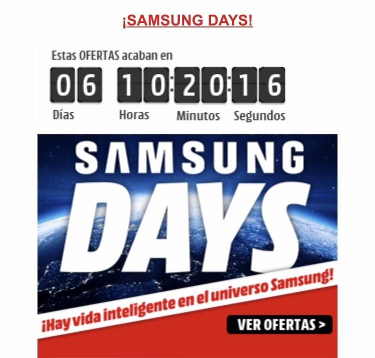 SAMSUNG DAYS EN MEDIAMARKT