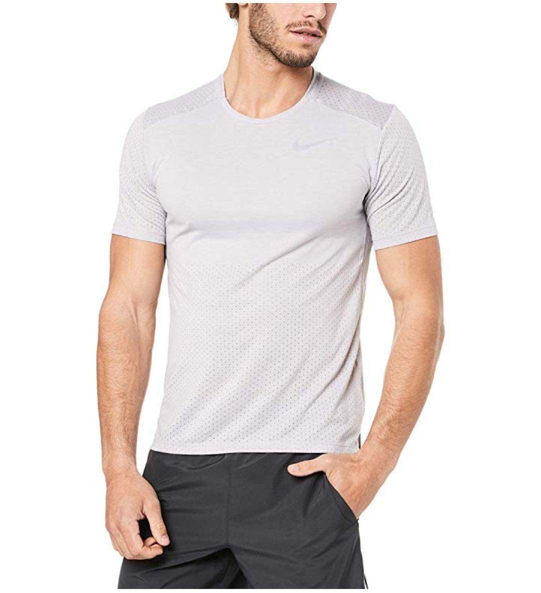 TALLA S - color gris - Nike M Nk Brthe Rise 365 SS Camiseta, Hombre